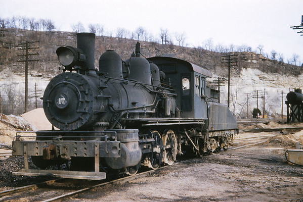 MSCL 82 - Dec 30 1957 -  0 6 0 No  17 (ex TRRA) at St Louis material & supply co Pacific MO