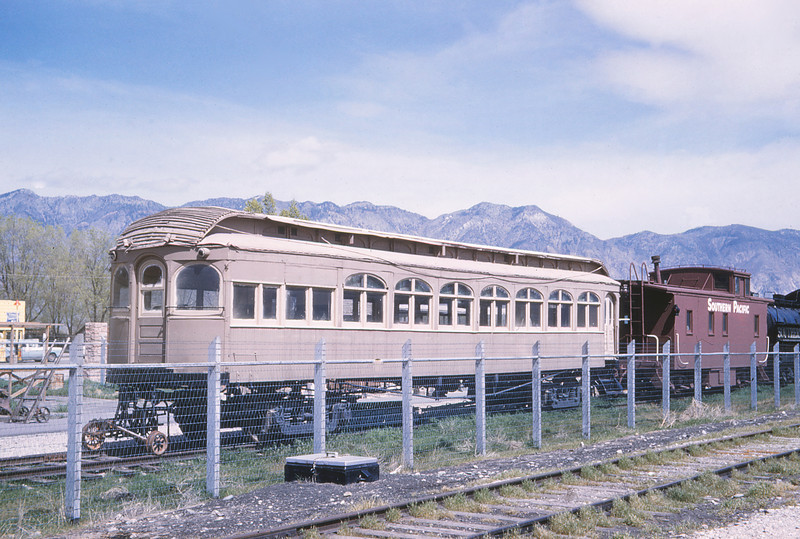 MSCL 127 - Apr 30 1961 - Bamberger Railroad work car & museum Corrine UTAH