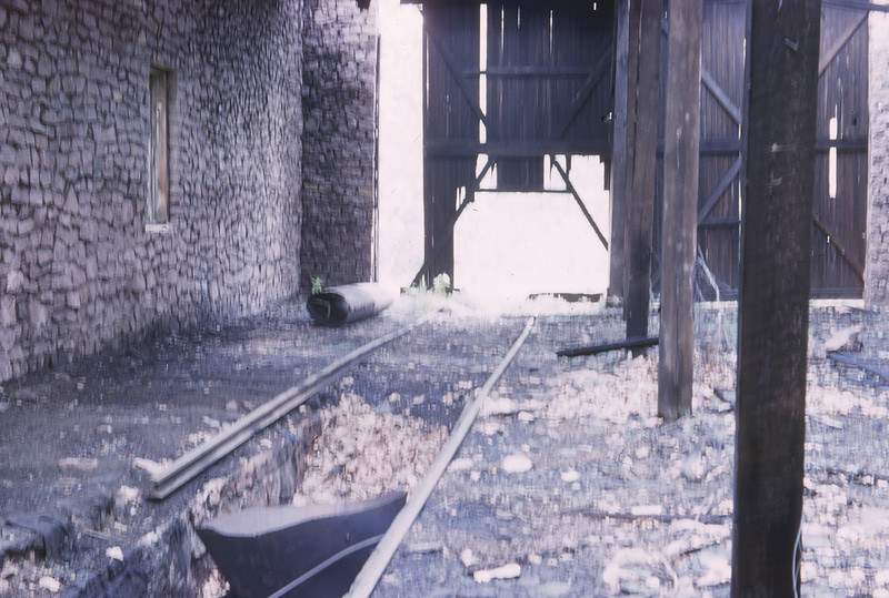 MSCL 94 - Jun 15 1958 - abandoned engine house - Graniteville MO