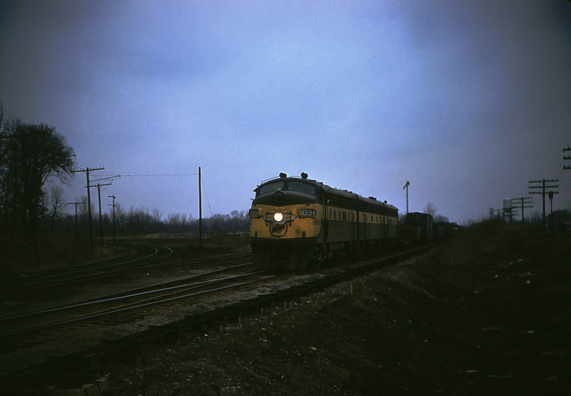 MSCL 46 - Feb 19 1956 - C&NW EMD's No 4069 & 4068 @ Edwardsville ILL