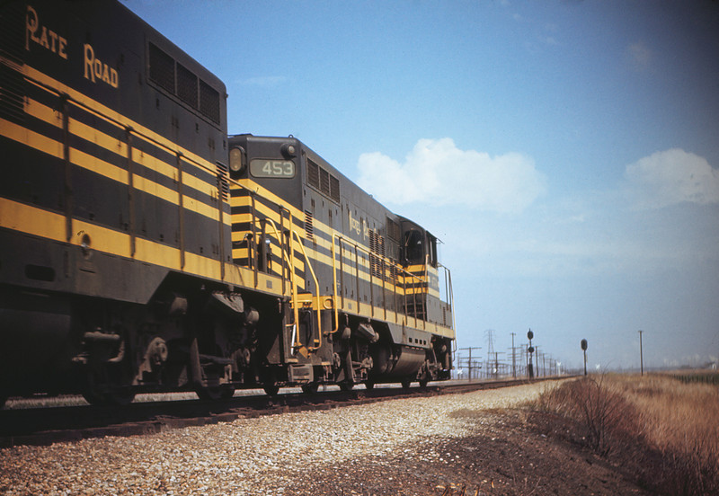MSCL 56 - Mar 27 1956 - Nickel Plate GP 9 No  453 near Granite City ILL