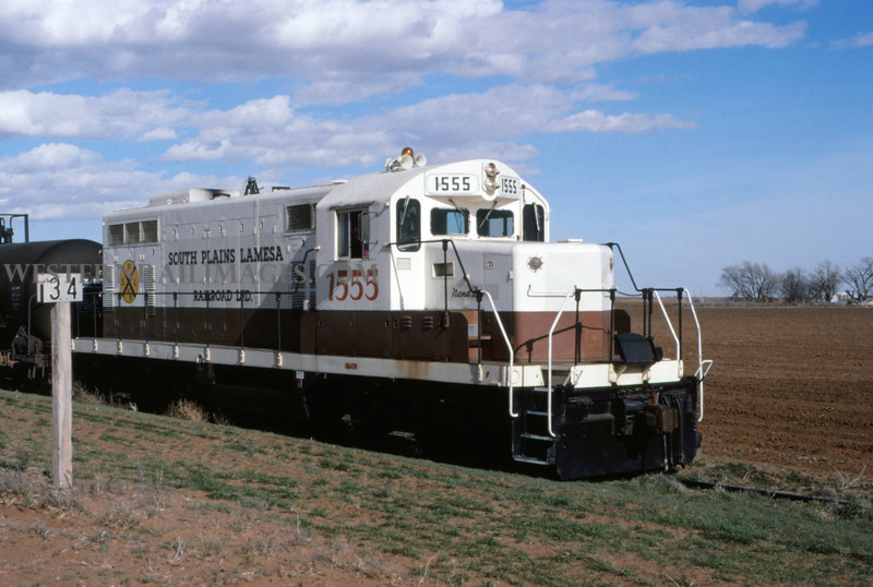 SPL - South Plains Lamesa RR No 1555 near Tahoka TEX