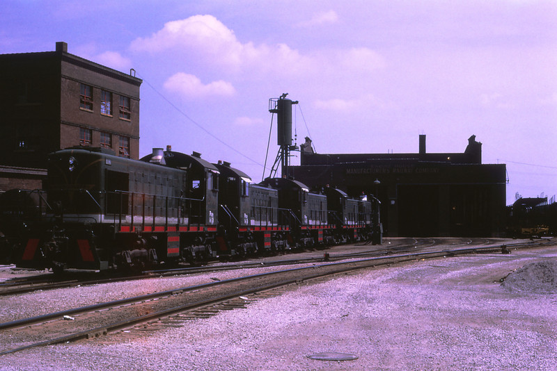 MSCL 280 - Aug 12 1973 - Manufacturers Railroad St