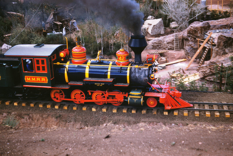 Magic Mountain 61 - July 3 1959 - ex-RGS 2 8 0 No 42 on 2nd day of operation