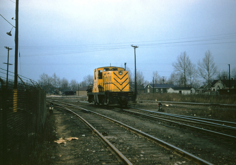 MSCL 75 - Feb 22 1957 - GE 60 ton diesel at Granite City Steel Co