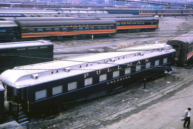 MSCL 158 - Nov 27 1964 - Pullman Car 'Colonial' at Jefferson Ave  St Louis MO