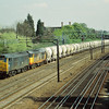 Double headed Class 31`s<br /> 31189/31301 with a  cement train bound for Tring head through Kenton