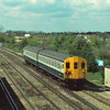 Class 416/3  2EPB 6329 on the Slow line at Raynes Park with a Shepperton/Kingston - Waterloo service