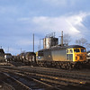 56004 is parked out of use at Shirebrook  on a cold spring afternoon<br /> <br /> 30 March 1985