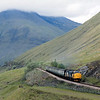 37409 'Loch Awe' with the 14.10 ex Fort William breasts County March Summit, Tyndrum<br /> <br /> 15.50pm  <br /> 13 June 1986