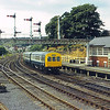 Class 101 DMU pases Falsgrave box as it approaches Scarborough<br /> <br /> Circa 1983