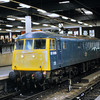 81009 on the blocks at Euston