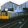 Class 110 Calder Valley DMU at Manchester Victoria<br /> <br /> Circa 1982