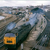 1001 Western Pathfinder departs Penzance with a London bound service.<br /> <br /> 1975