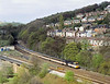 Inter City HST power car No.43088 sweeps past Ambergate