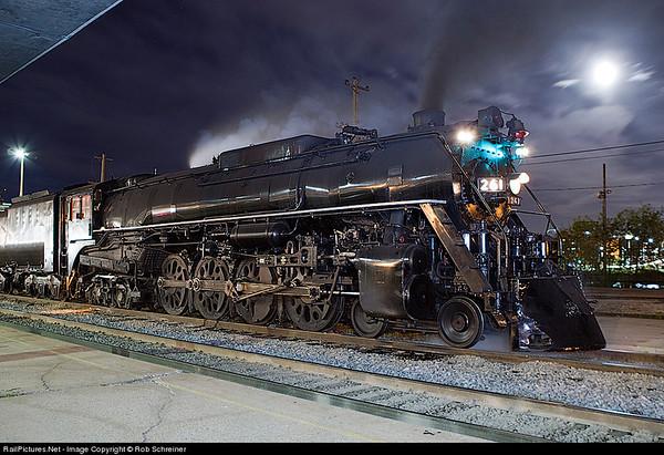 Railpix at night
