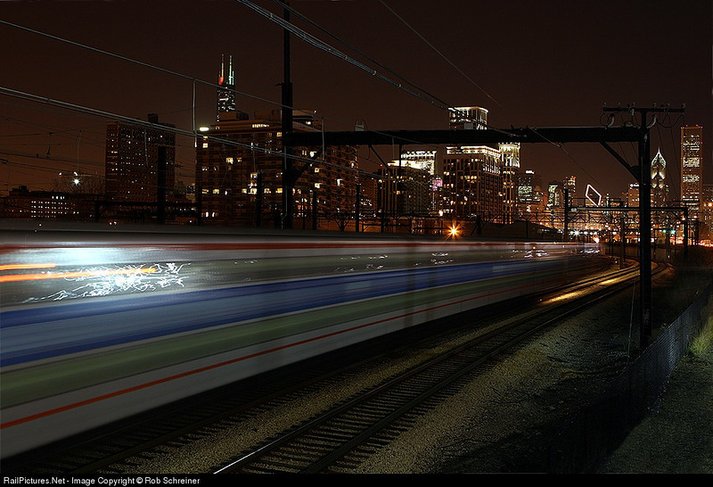 Another Metra time lapse on the near south side of Chicago.