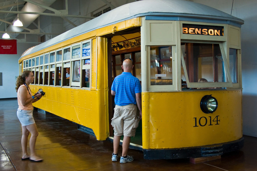 Omaha once had a street railway.  The tracks were removed decades ago when the bus was considered a better option.  The city is considering bringing streetcars back to some areas.
