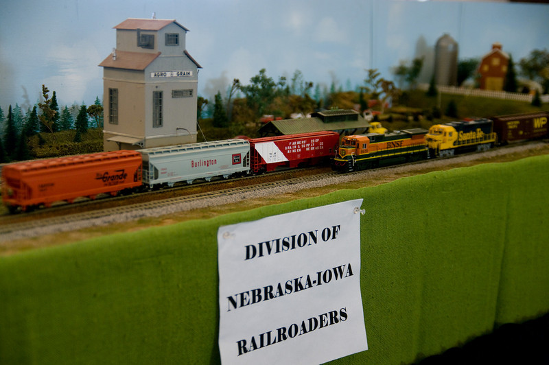 Several model railroad groups participated in Railroad days.  There were portable or permanent displays at all of the locations.