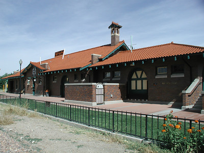 Royal Gorge Railroad Depot - Canon City Colorado