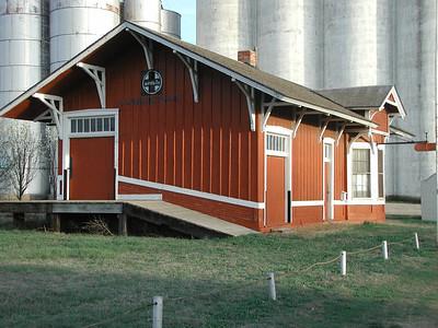 Santa Fe Depot museum - Cunningham, Kansas