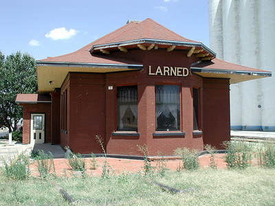 Santa Fe Depot - Larned, Kansas