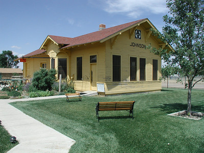 Santa Fe Depot - Stanton County Museum, Johnson City Kansas