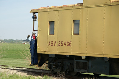 Abilene & Smoky Valley Railroad running between Abilene and Enterprise, KS
