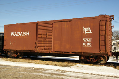 Wasbash boxcar in Belton, MO.