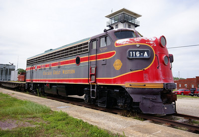Chicago Great Western F-Unit in Oelwein, IA