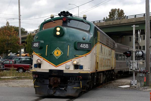 Maine Eastern Railroad 2009