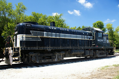 New York Central #8255 RS-3 now operating on the Midland Railway in Baldwin City, KS
