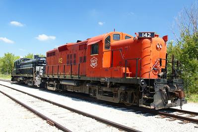 MKT #142 on the Midland Railway