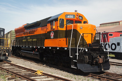 Great Northern #400 in new paint