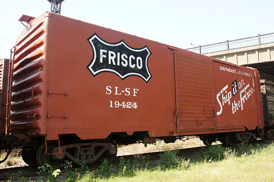 Frisco boxcar in St Paul, MN