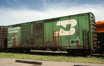 Burlington boxcar