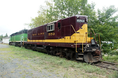 Soo Line #559 in Osceola, WI