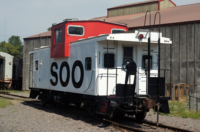 Soo Line caboose in St Paul, MN