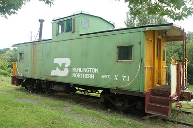 Burlington Northern waycar in Osceola, WI