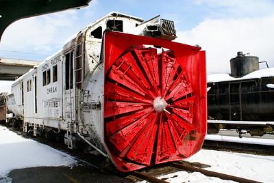 OWR&N Rotary Snowplow Ogden, UT