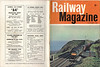 Railway Magazine October 1965 front and back covers