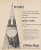 Canadian Pacific Railway Timetable 1965 October 31: ad for Toronto Montreal service