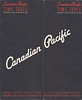 Canadian Pacific Railway Timetable 1965 October 31: front cover