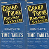 Grand Trunk Railway System Complete Time Tables 1899 September 1st -Cover