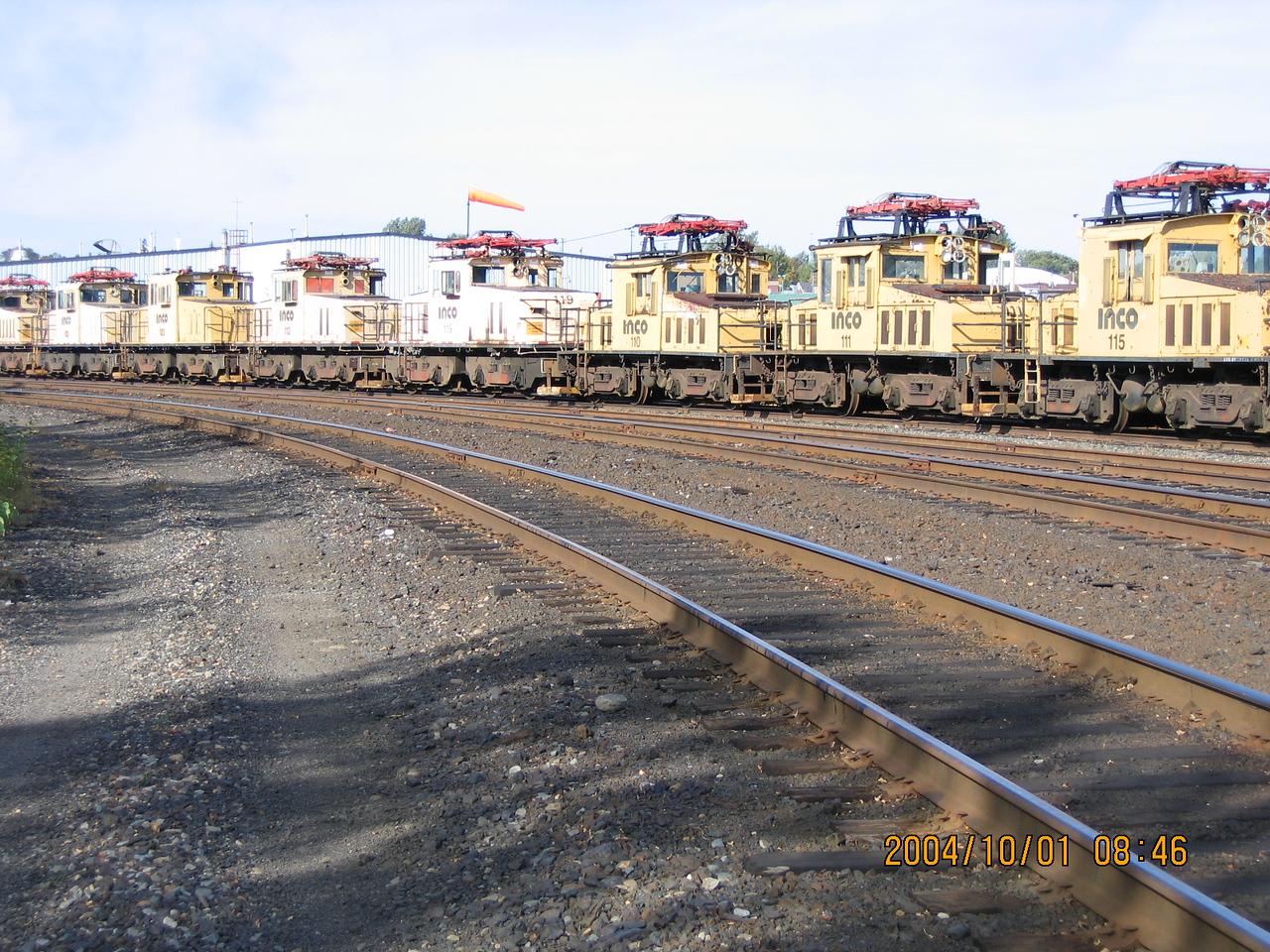 Canadian Pacific Railway - Sudbury, Ontario - Old Inco units