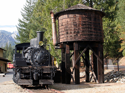 Shea Logging Locomotive