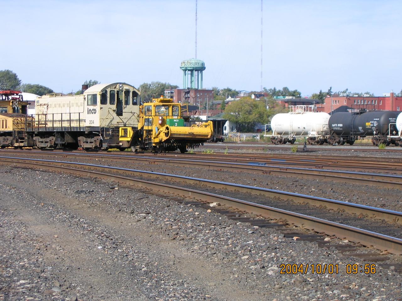 Canadian Pacific Railway - Sudbury, Ontario -