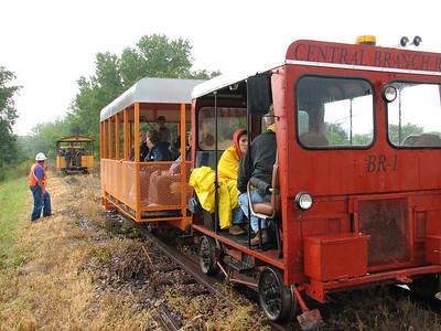 Marshall County, KS Railroad Historical Society special excursion train for the Kansas Explorers Club