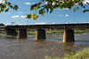 Railroad Bridge over the Lehigh River in Allentown, PA