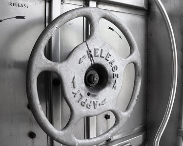 This brake wheel was on a passenger car.  I took this with my old Kodak P&S.